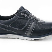 Стильные и комфортные мужские кроссовки - кожа (105с)