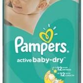 Підгузники Рampers active baby-dry 6 (15+), поштучно