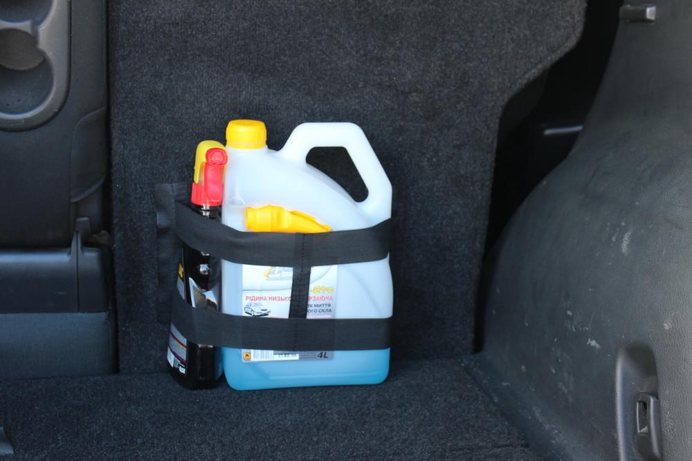 Карман липучка органайзер в багажник фото №1