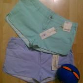 Фирменные хлопковые шорты шортики XL