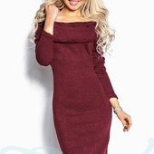 Красивое платье Gepur из ангоры по цене закупки