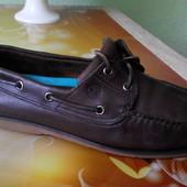 № 2063 Топ-сайдеры Timberland 42,5 кожа , мокасины , туфли