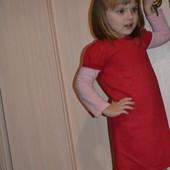 Платья тёплое в Садик отдам за 35грн