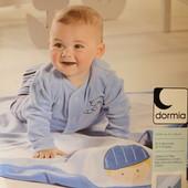 Детский голубой велюровый плед Dormia Германия