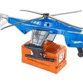 Hot Wheels Вертолет с машинкой super s.w.a.t. copter vehicle