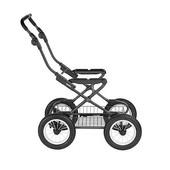 Шасси Ergo Bike Inglesina ae15h6100 Италия серый 12119868