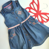 Сарафан,платье с вышивкой F&F(2-3 года)