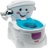Fisher-Price Музыкальный горшок Научи меня 2 в 1 cheer for me potty