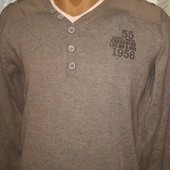 новый.мужской свитер обманка от такко.Германия