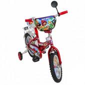 Детский двухколесный велосипед Mustang Angry Birds 12, 14, 16, 18. 20 д