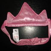 корона принцессы (фирменная) на липучке 48-54 см