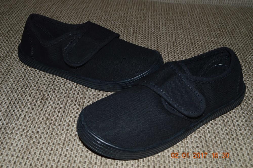 Чорні парусинові туфлі next розм. 26 по 39 під замовлення фото №1