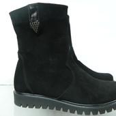 Замшевые ботинки 38раз