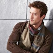 новый мужской хлопковый шарф. от тсм.Германия 185х28