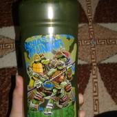 Бутылка для воды черепашки ниндзя
