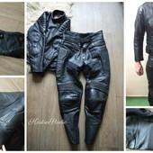 Мотоэкипировка, байкерский костюм, куртка-косуха, штаны, р-С-М
