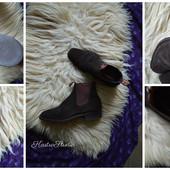Замшевые мужские ботинки-челси Australia,р-р 41,5-42