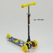 Самокат трехколесный Бест скутер мини 1294 scooter mini от 1,5 до 4 лет