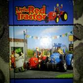 """Книга на английском """"Маленький красный трактор""""."""