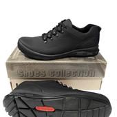 Кожаные спортивные туфли модель К-1