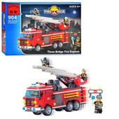 """Конструктор Brick ― 904 и 905 """"Пожарная  команда"""" ."""
