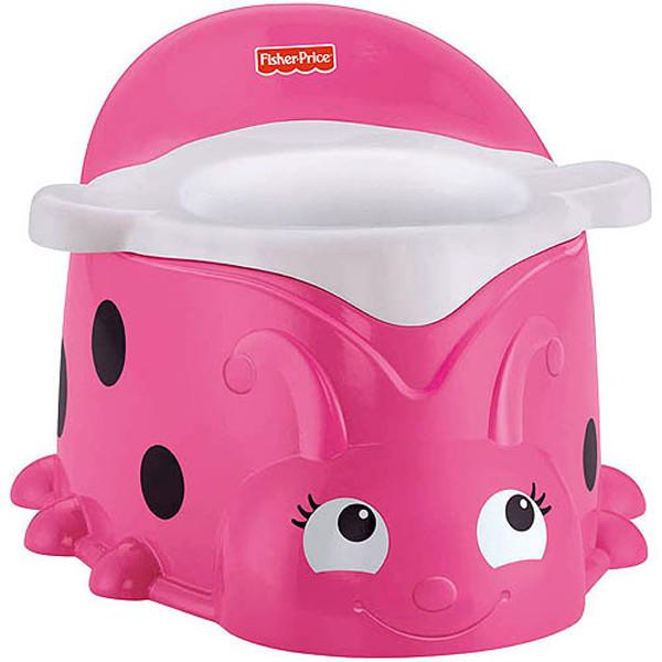 fisher price Горшок Божья коровка ladybug potty pink BBM85 фото №1