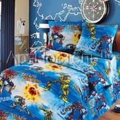 Комплект детского постельного белья Трансформеры, бязь ГОСТ