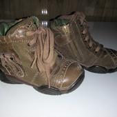 ботинки 21р кожаные