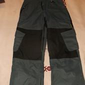 теплые штаны-полукомбинезон 152