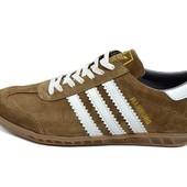 Акция !!! Кроссовки Adidas amburg trainers beige (реплика)