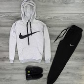 Мужской спортивный костюм Nike с капюшоном