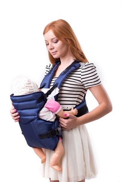 Рюкзак переноска с ортопедической спинкой для мамы (аналог womar № 12 ) фото №1