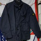 Куртка мужская  Stone Island (fake) размер M-L состояние хорошее, чуть светлее по швам