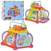 Детская развивающая игрушка Мультибокс 15в1