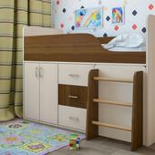 Кровать-чердак Снупи