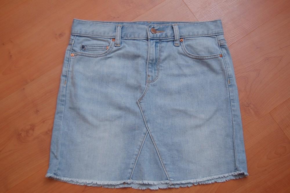 Юбка джинсовая gap р.25 фото №1