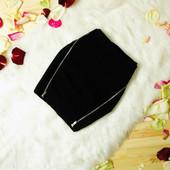 xs-S Bershka мини юбка с замочками!