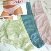Трусики слип низкая посадка из хлопка и модала  цветные Jadea 785