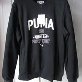 Кофта Puma style athl crew sweat fl (834116-01) Оригинал р.L