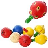 Деревянная игрушка Юла