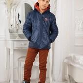 Демисезонная мальчиковая куртка 122-140р