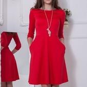 Платье 9 цветов р-ры 40-50