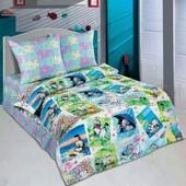 Комплект детского постельного белья Мурзик, поплин