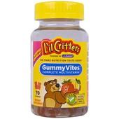 Витамины детские жевательные L'il Critters complete multivitamin 70 шт