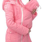 Демисезонная куртка для беременных, слингокуртка