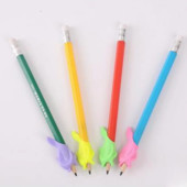 Эргономическая насадка на ручку Дельфинчик, Тренажер для письма, Ручка-самоучка