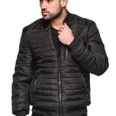 Мужская демисезонная куртка - бомбер 48-58 р.