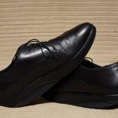 Черные кожаные фитнес туфли MBT Швейцария 46 р.