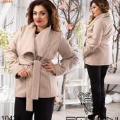 Пальто на подкладе Короткое. Размеры:  48, 50, 52. В расцветках (0