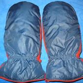 Натуральный пух, рукавицы размер М.